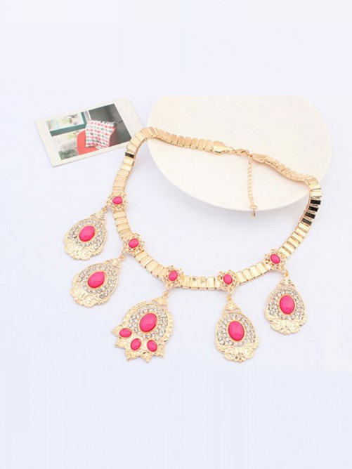 Occident Boutique Fashionable Simple Necklace