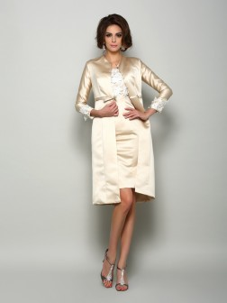 Long Sleeves Applique Satin Special Occasion Wrap