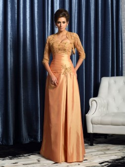 Applique 1/2 Sleeves Net Special Occasion Wrap
