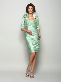 1/2 Sleeves Taffeta Special Occasion Wrap