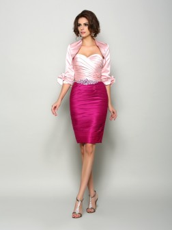 Satin 1/2 Sleeves Special Occasion Wrap