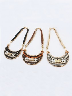 Occident Exotic woven Retro Necklace