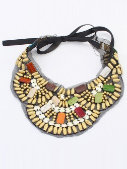 Occident Bohemia Ethnic customs Necklace - D