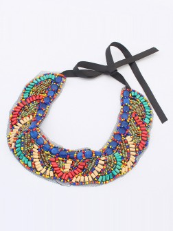 Occident Bohemia Ethnic customs Necklace - E