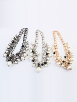 Occident Stylish Pearls Exquisite Necklace