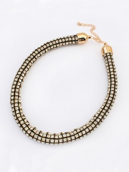 Occident Hyperbolic Major suit Flash drilling Necklace