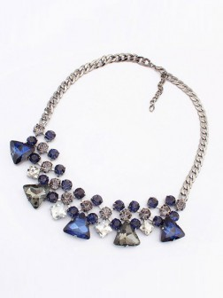Occident Stylish New Temperament Gemstone Necklace