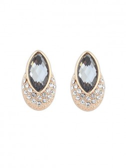 Occident Exquisite Gemstone Stud Earrings