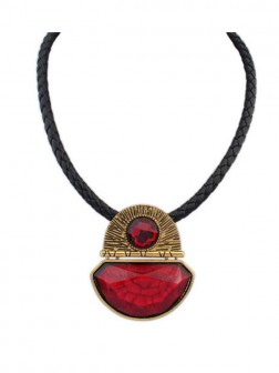 Occident Retro Exotic Hyperbolic Necklace