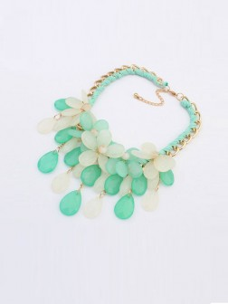 Occident Summer Ladies All-match Necklace