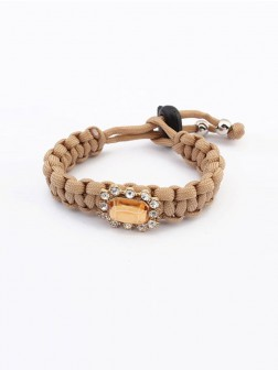 Occident All-match Woven Concise Bracelets
