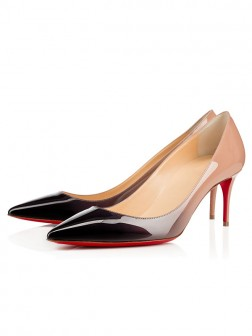 Women's Patent Leather Closed Toe Stiletto Heel Party Shoes