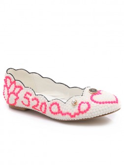 Women's Sheepskin Closed Toe Flat Shoes
