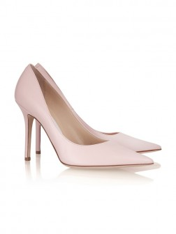 Women's Patent Leather Stiletto Heel Closed Toe Shoes