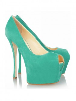 Women's Stiletto Heel Peep Toe Platform Shoes